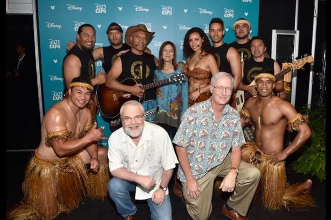 MOANA Announcement at D23 EXPO