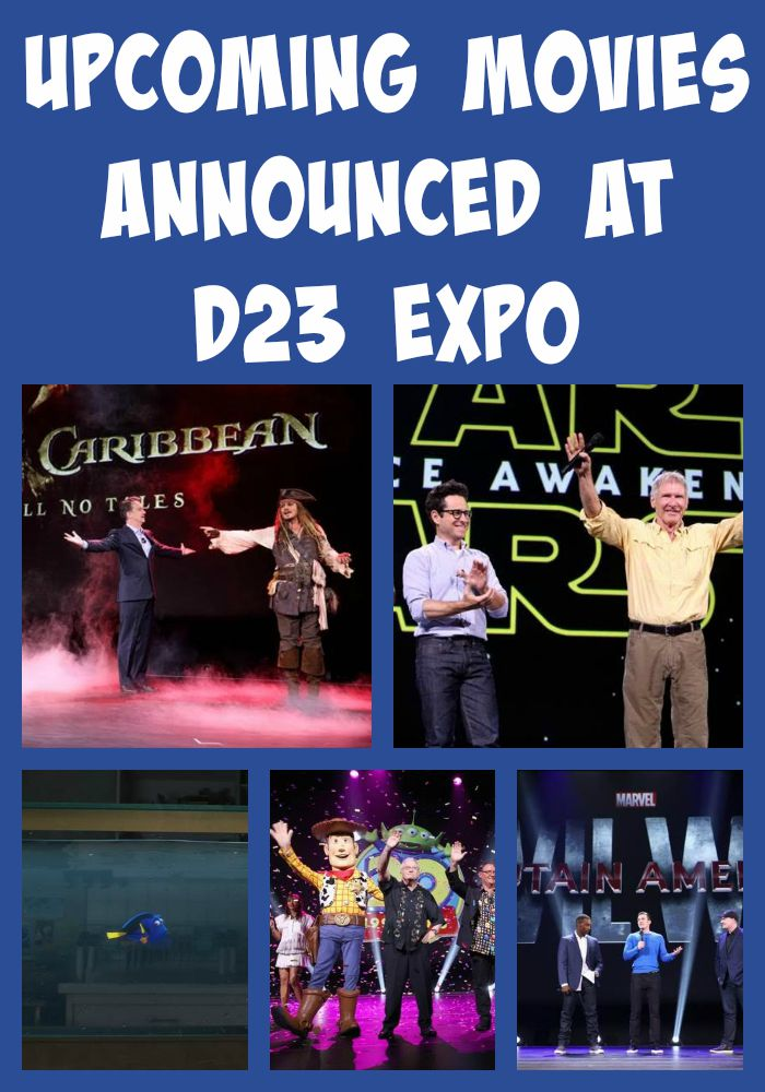 Mom of 4 boys shares their most anticipated movies to see from those featured at D23 EXPO in August 2015