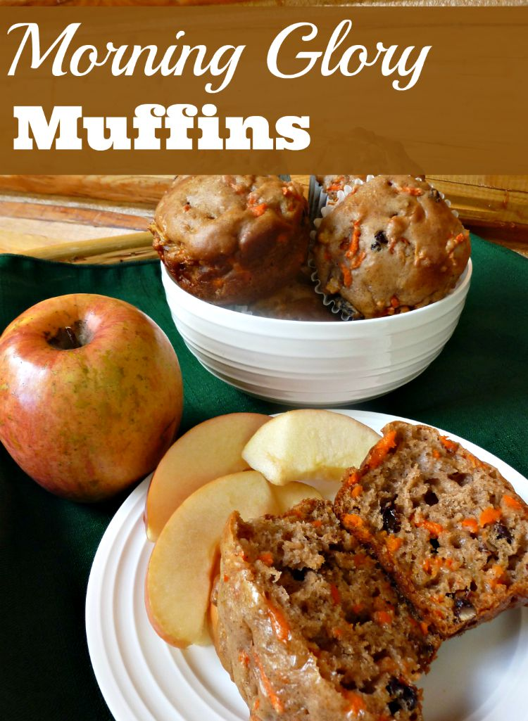 Morning Glory Muffins Provide a Nutritious Taste of Fall in Every Bite