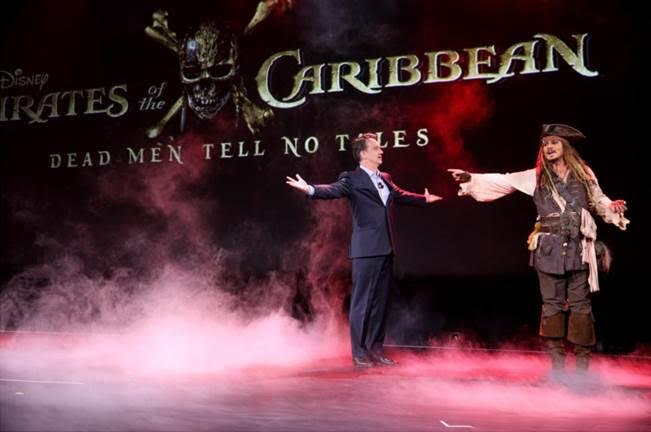 Pirates of the Caribbean Dead Men Tell No Lies at D23 EXPO