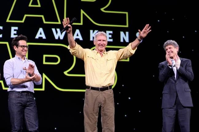 Star Wars The Force Awakens Harrison Ford D23 EXPO