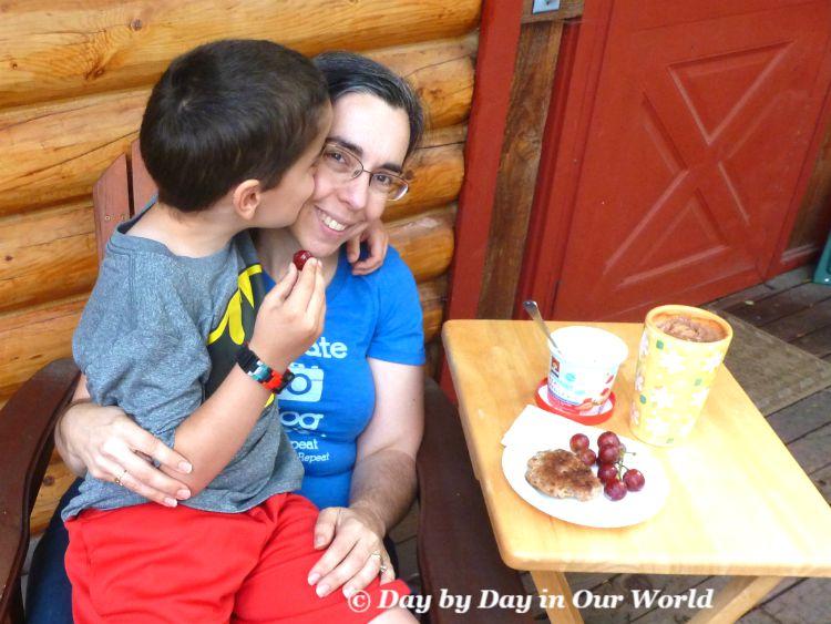 The Reward a Mom Gets for a Yummy Breakfast