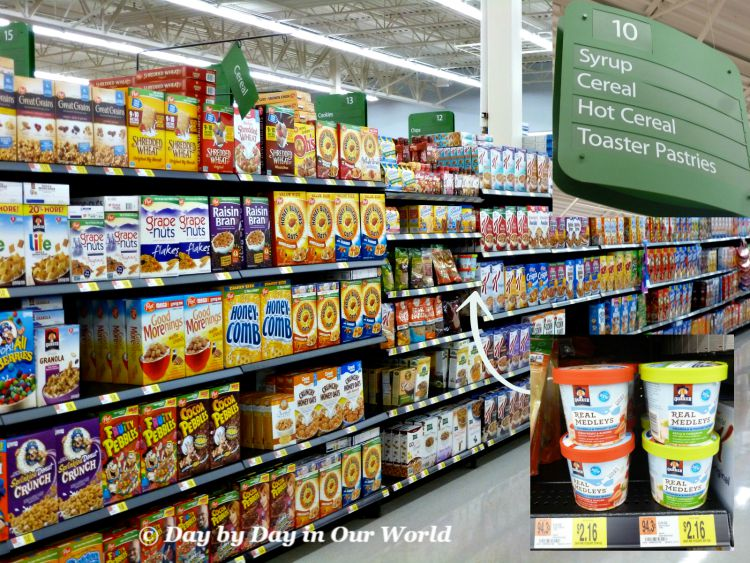 You Can Find Quaker Real Medleys Granola and Yogurt Blend in the Cold Cereal Section of Walmart