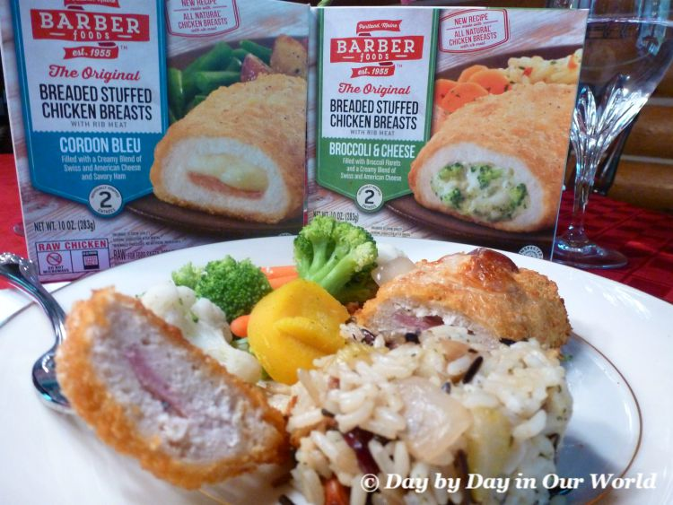 Barber Foods Offers Easy to Prepare Stuffed Chicken Breasts to Make Your Meal Wonderful