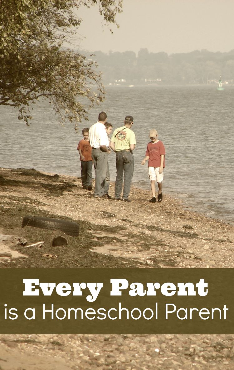 Reasons why every parent is a homeschool parent