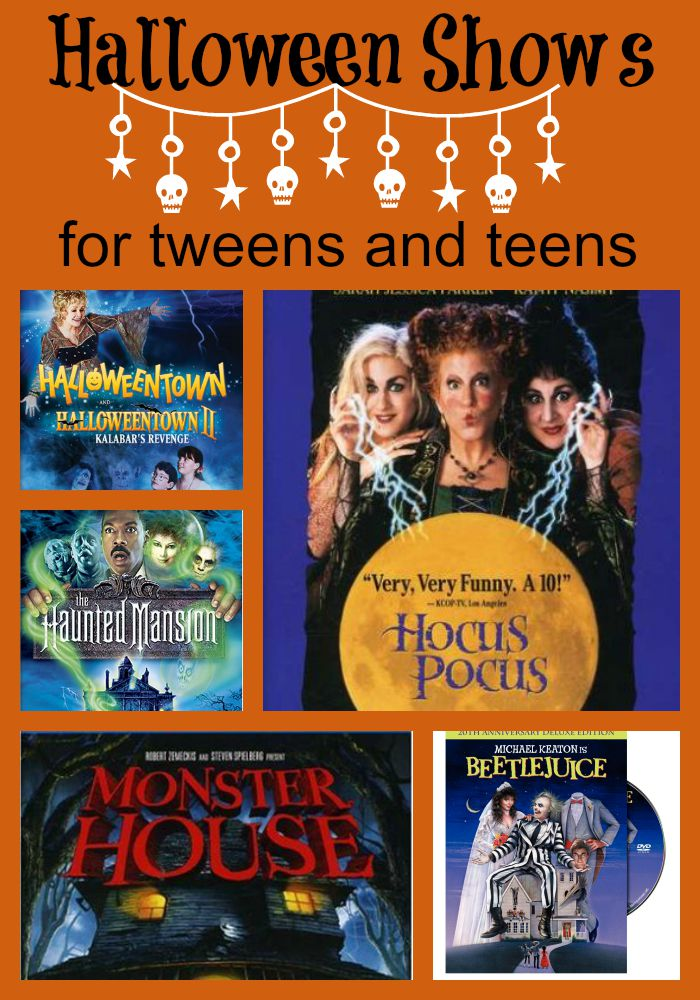Suggestions for Halloween themed shows for tweens and teens