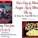 Marvel's Avengers Age of Ultron Movie Night Giveaway