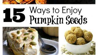 15 Ways to Enjoy Pumpkin Seeds