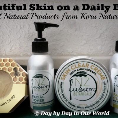 Beautiful Skin Made Possible with Koru Naturals