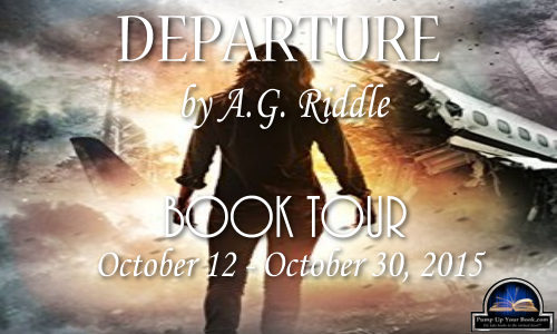 Departure by A.G. Riddle Blog Tour