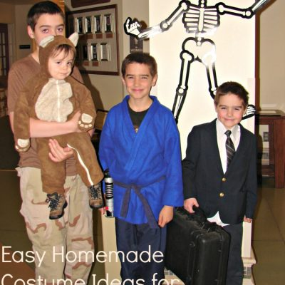 Easy Homemade Costume Ideas for Halloween