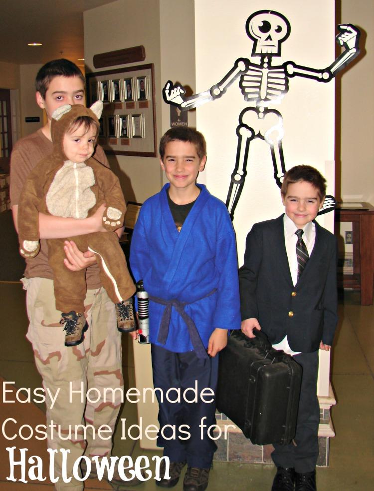 Easy Homemade Costume Ideas for Halloween