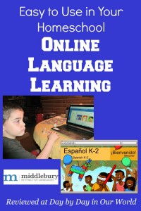 Middlebury Interactive Languages is an easy to use online language learning option for students from grades K to 12