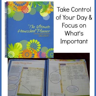 Taking Control of Your Day with The Ultimate Homeschool Planner