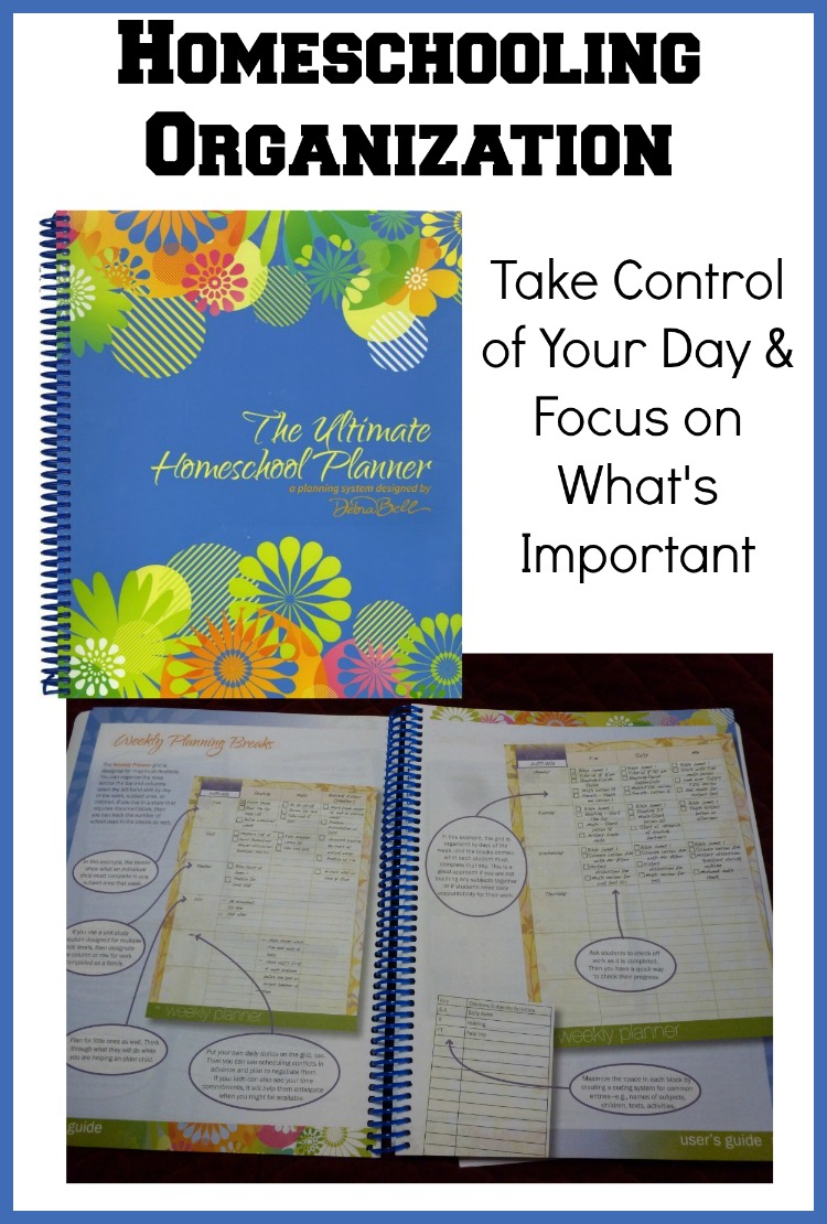 The Ultimate Homeschool Planner from Apologia helps you take control of your days and focus on what is most important for your family