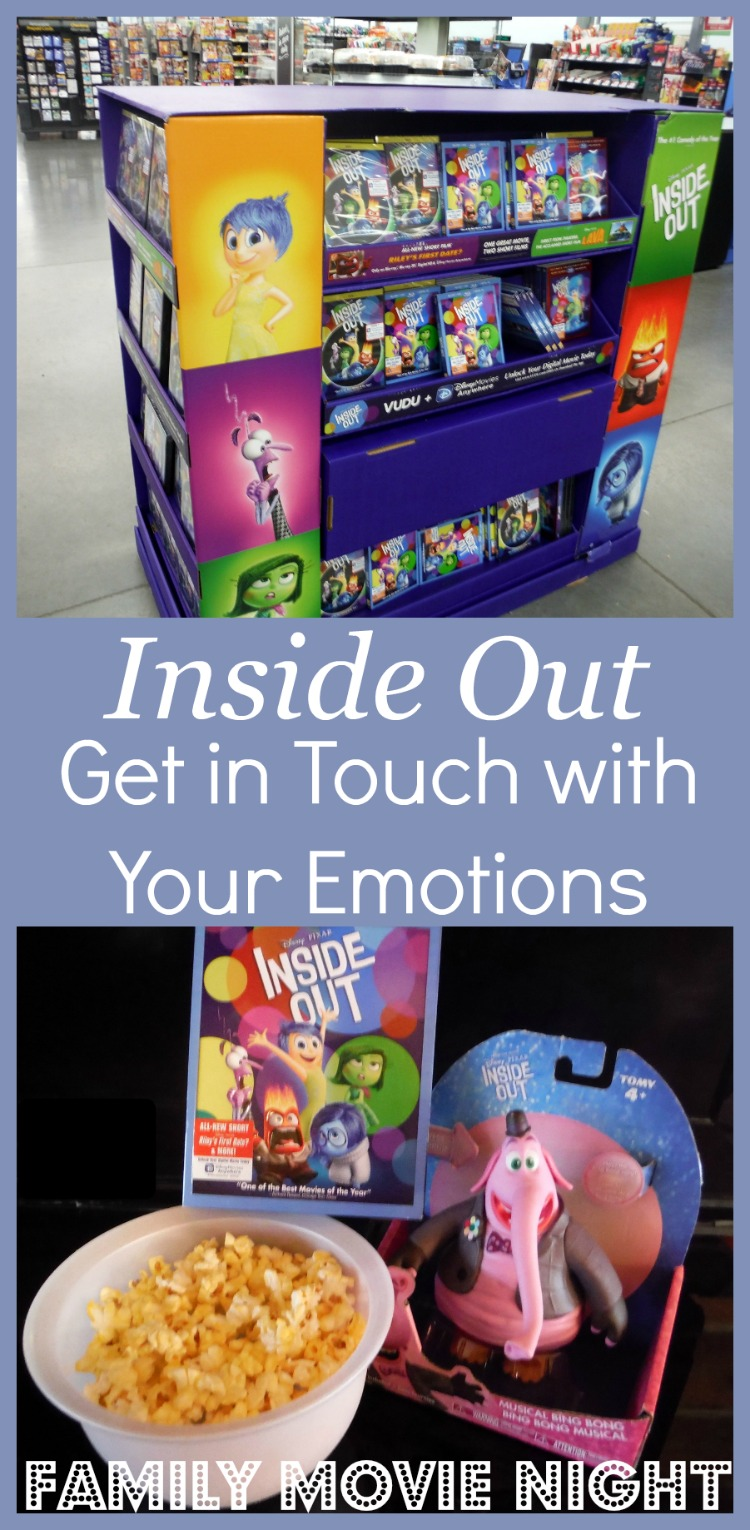 Consider Inside Out for Your Next Family Movie Night and Enjoy a Fun way to Get in Touch with Your Emotions #InsideOutEmotions AD