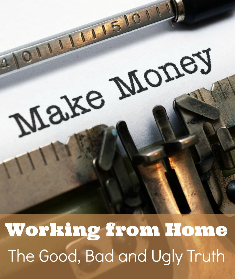 Deciding to Make Money from Home is a mixture of good, bad and ugly aspects. This post focuses upon direct sales and blogging