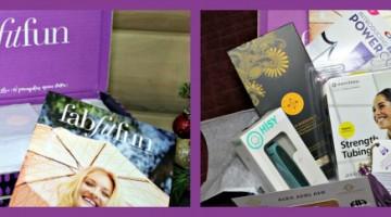 Wonderful Assorted Items in the FabFitFun Fall 2015 Box