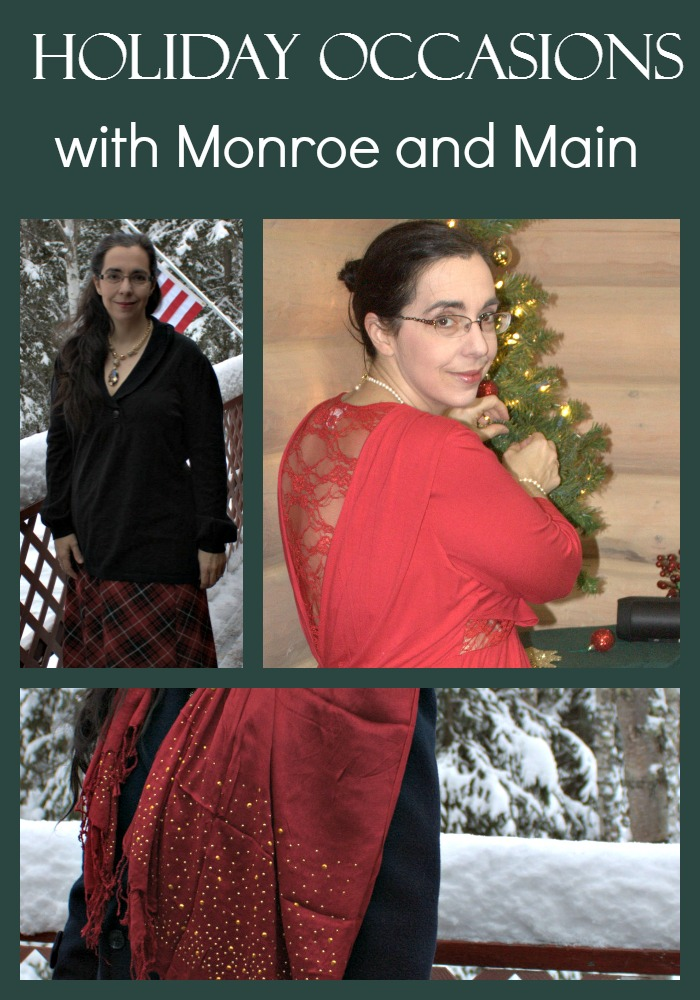 Holiday Occasions Call for Looking Gorgeous Monroe and Main have selections that do just that