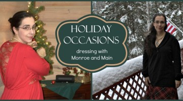 Wonderful Outfits for Holiday Occasions from Monroe and Main + $50 Giveaway!