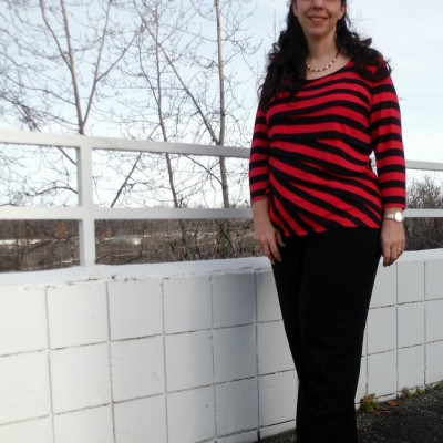 Stripes for a Fall Day in Anchorage, Alaska