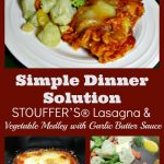 Simple Dinner Solutions: Vegetable Medley with Garlic Butter Sauce