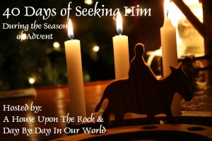 40 Days of Seeking Him Advent