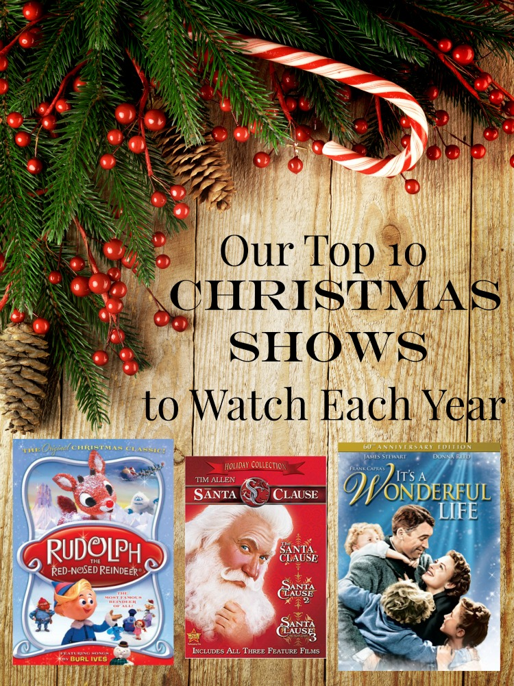 Top 10 Christmas Shows to Watch Each Year