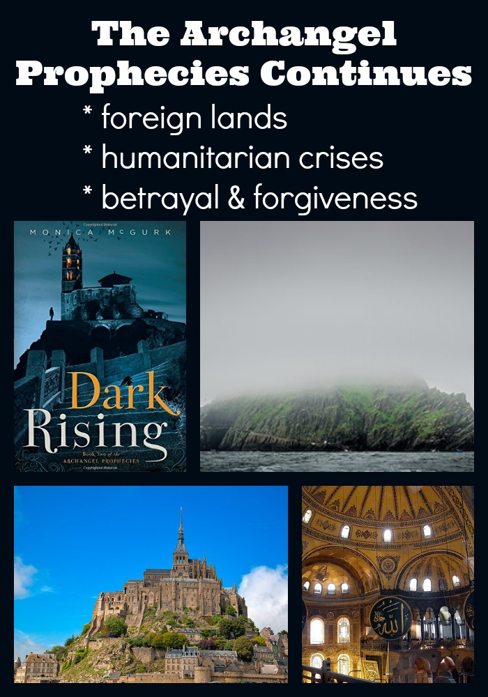 Explore Foreign Lands & Humanitarian Issues while being entertained by the story of Hope Carmichael in Dark Rising the second book of The Archangel Prophecies Triology