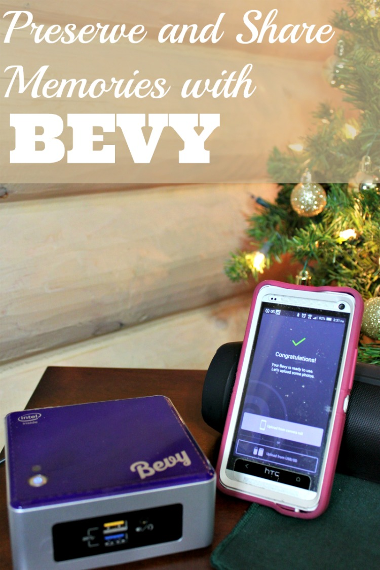 You can preserve and share your photos and videos using Bevy. No need to be in the house where it is active so long as the internet connection is running. #BevyMoments #ad