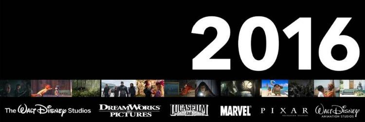 2016 Walt Disney Studios Motion Pictures LineUp