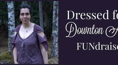 Modern Mermaid Dress for Celebrating Downton Abbey