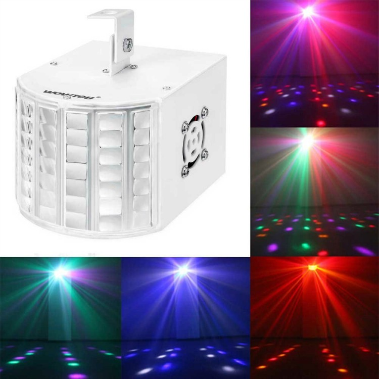 Example of DMX-512 Color-changing Disco Party Led Stage Light in use