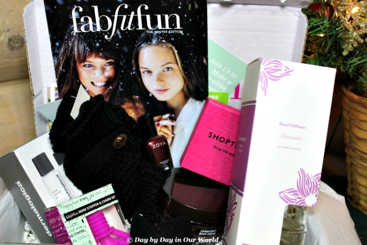 FabFitFun Winter 2015 is full of goodies to make life enjoyable