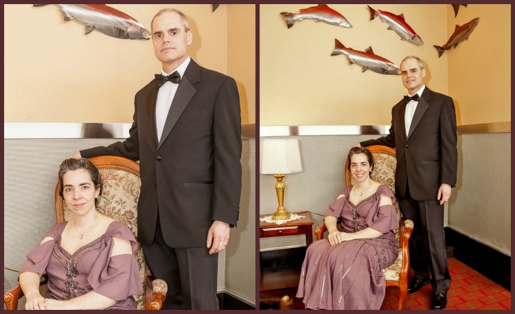Formal and More Relaxed Portraits from Downton Abbey Fundraiser