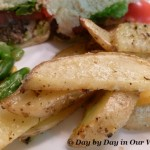 Garlic Herb Parmesan Oven Fries | Simple Dinner Solution