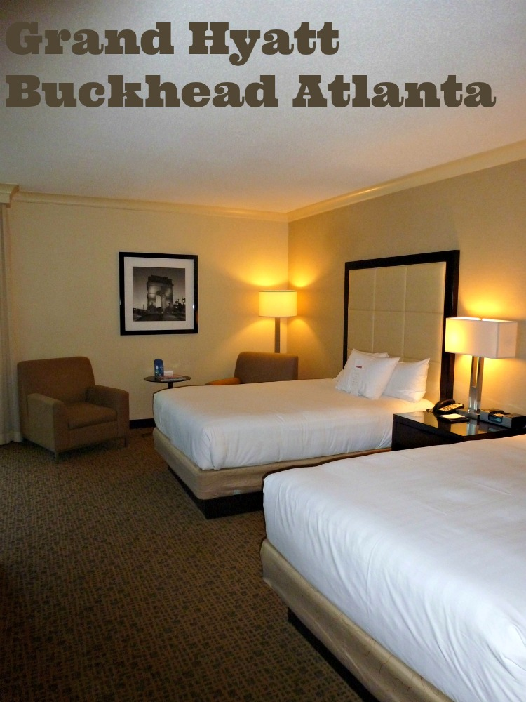 Grand Hyatt Buckhead Atlanta provides a simple elegance to their guests