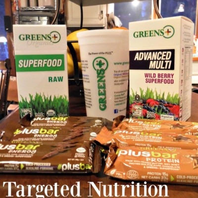Greens Plus Energy Bar: Targeted Nutrition for Your Body