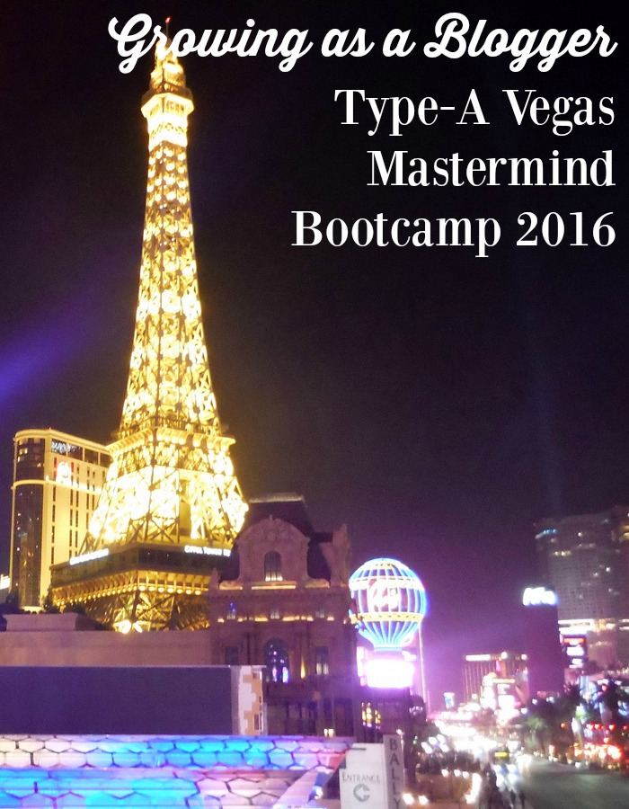 Sharing Highlights from Type-A Vegas Mastermind Bootcamp 2016