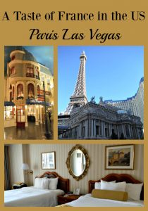 You can experience a taste of France when you visit the Paris in Las Vegas, Nevada.