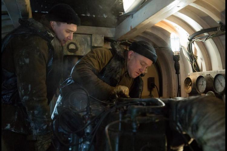 The Finest Hours: Crewmates Work Together On Board Ship