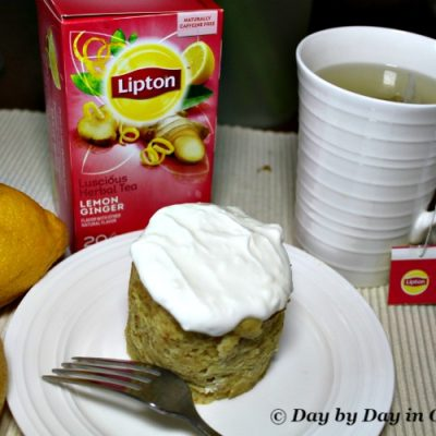 Tantalizing Tea Escapes With a Lemon Ginger Tea Muffin