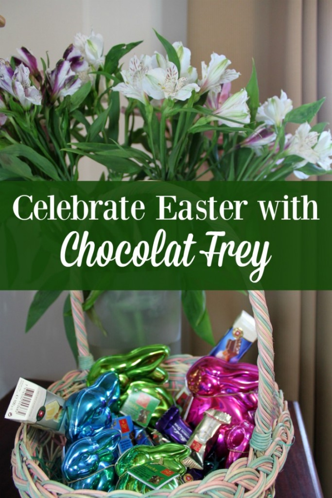 Chocolat Frey products can help make your Easter baskets really pop. Or enjoy their products year round.