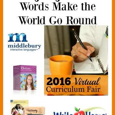 Language Arts: Words Make the World Go Round