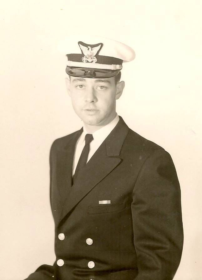My dad as a Lieutenant in the United States Coast Guard.