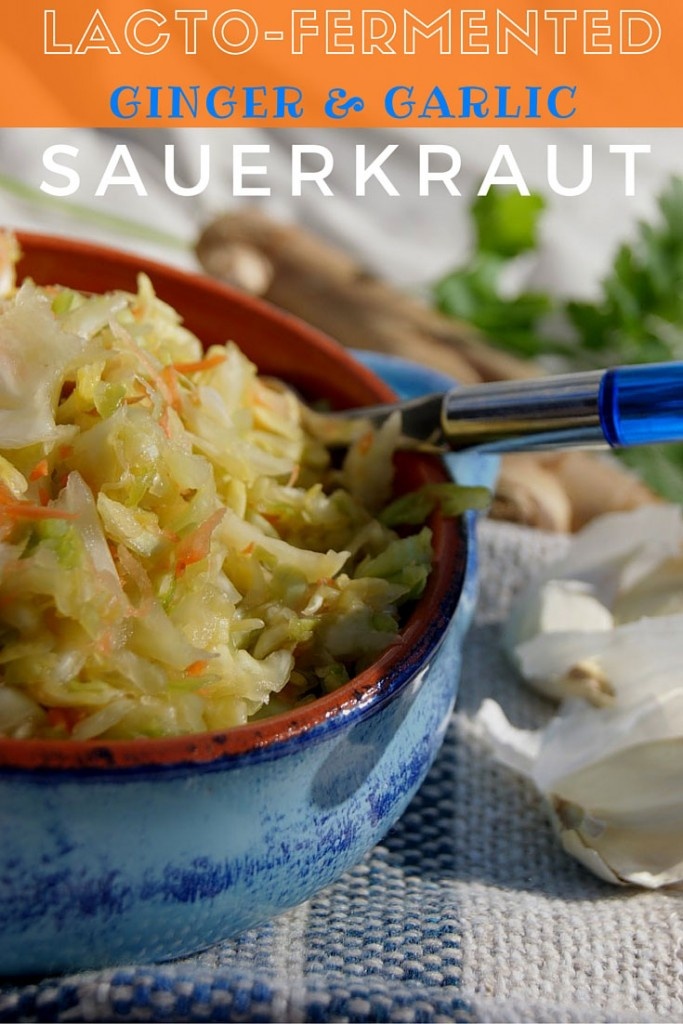 Lacto-Fermented-Ginger-and-Garlic-Sauerkraut