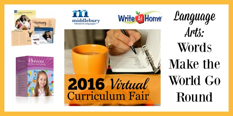 Language Arts Words Make the World Go Round 2016 Virtual Curriculum Fair