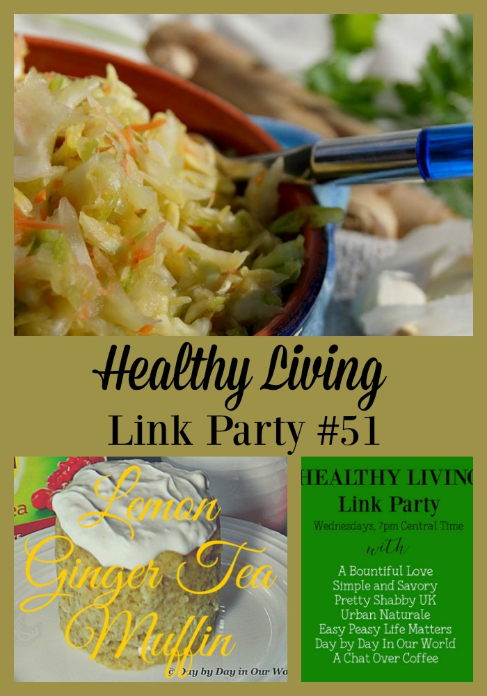 Looking for ideas to live a healthy lifestyle? Join us in the Healthy Living Link Party and see which posts are being featured.