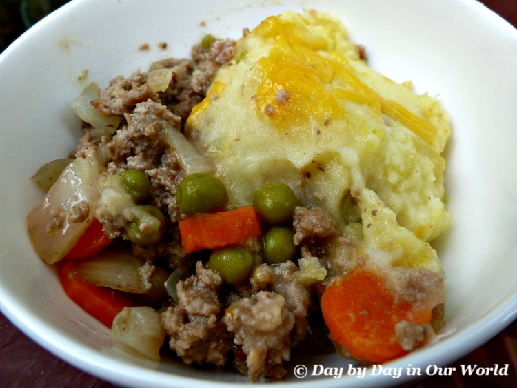 My family enjoys the combination of meat and potatoes as found in this Shepherd's Pie. Best of all is that you can have it ready in about 30 minutes!