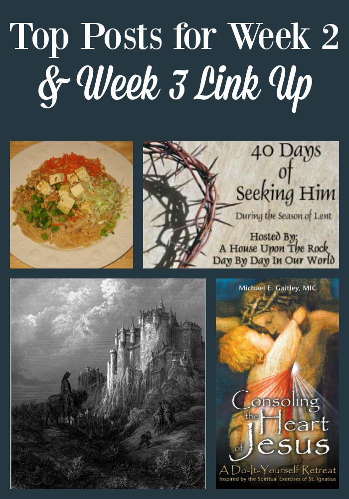 Sharing Top Posts for Week 2 of the 40 Days of Seeking Him Link up for 2016